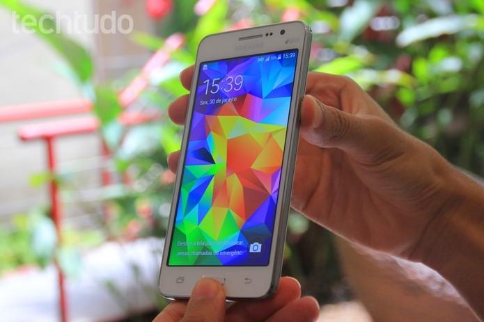 Grand Prime tem a câmera ideal para selfies (Foto: Isadora Diaz/TechTudo)