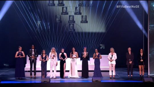 Fifa The Best: Marta é eleita para a seleção feminina da temporada