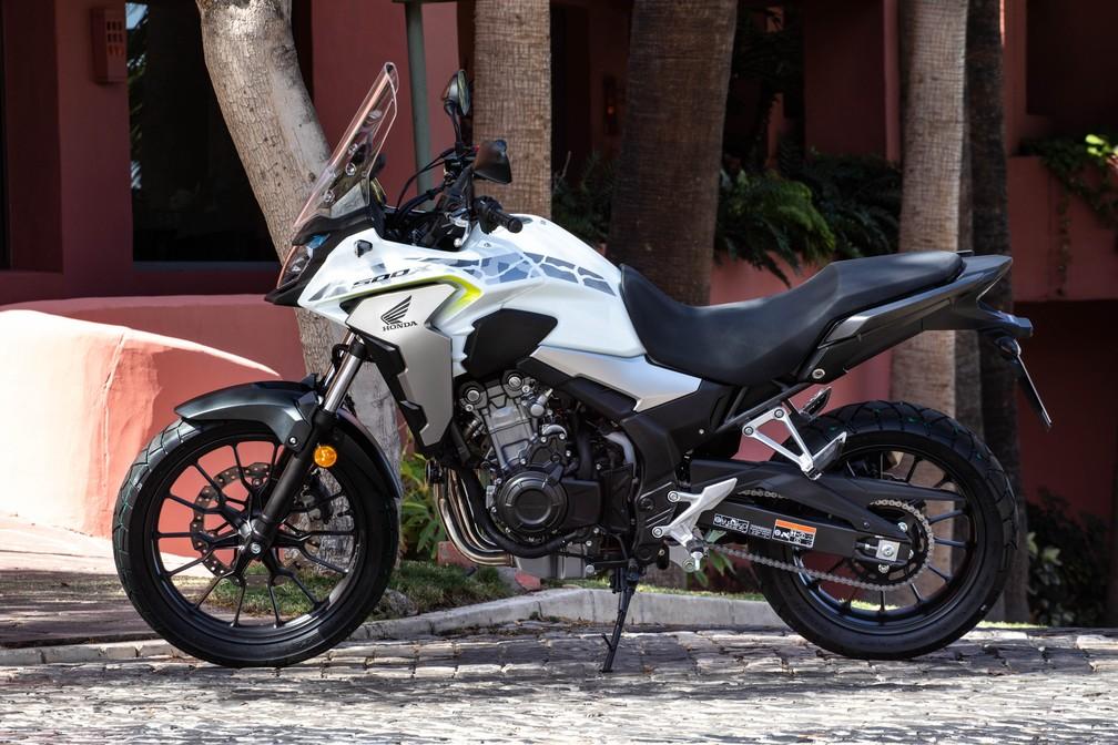 Honda CB 500X atualizada — Foto: Honda/Divulgação