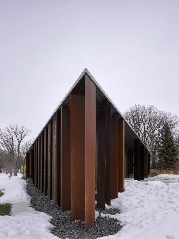 Parallelogram House  (Foto: Divulgação /  James Brittain)
