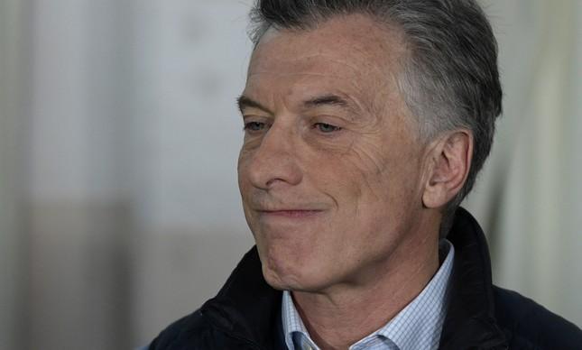 Mauricio Macri tenta a reeleição