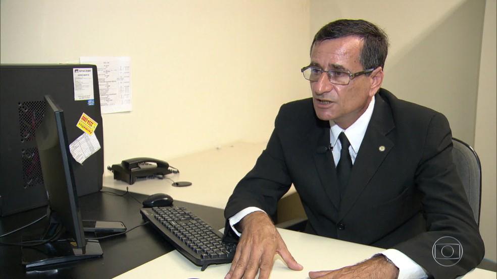 Delegado José Mário Salomão de Omena (Foto: Reprodução/ TV Globo)
