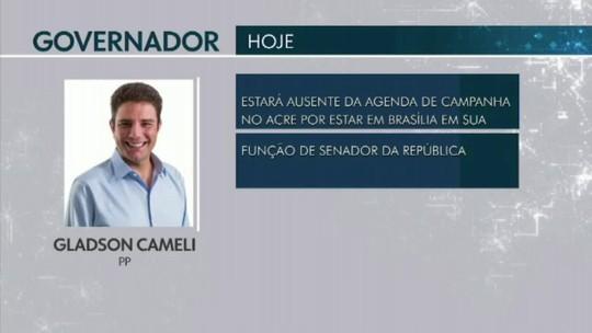 Confira a agenda dos candidatos ao Governo do Acre em 29 de agosto