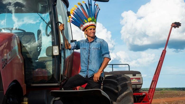 indígena-Arnaldo-zunizakae (Foto: Mayke Toscano/Ed. Globo)