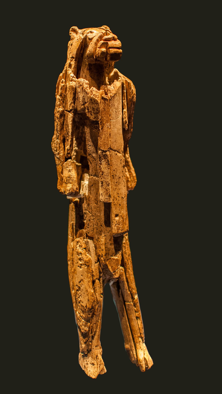 Homem-Leão da Caverna Hohlenstein-Stadel (Foto: Dagmar Hollmann/Wikimedia Commons)