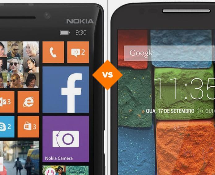 Lumia 930 ou Moto X? Qual é melhor?  (Foto: Foto: Arte/TechTudo)