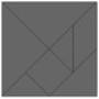 Geometric Puzzle Game: Tangram
