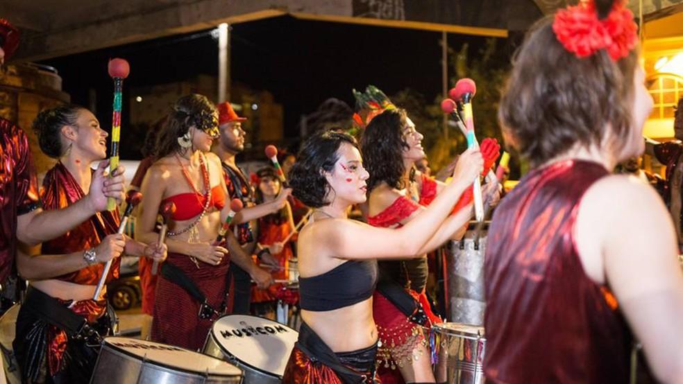 Roda de Timbau vai sair no pré-carnaval — Foto: Camila Rocha/Divulgação
