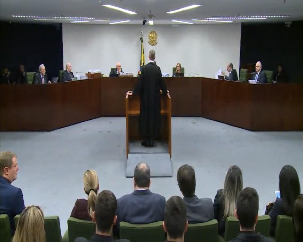 Segunda Turma do STF julga pedidos de liberdade do ex-presidente Lula — Foto: Reprodução, STF