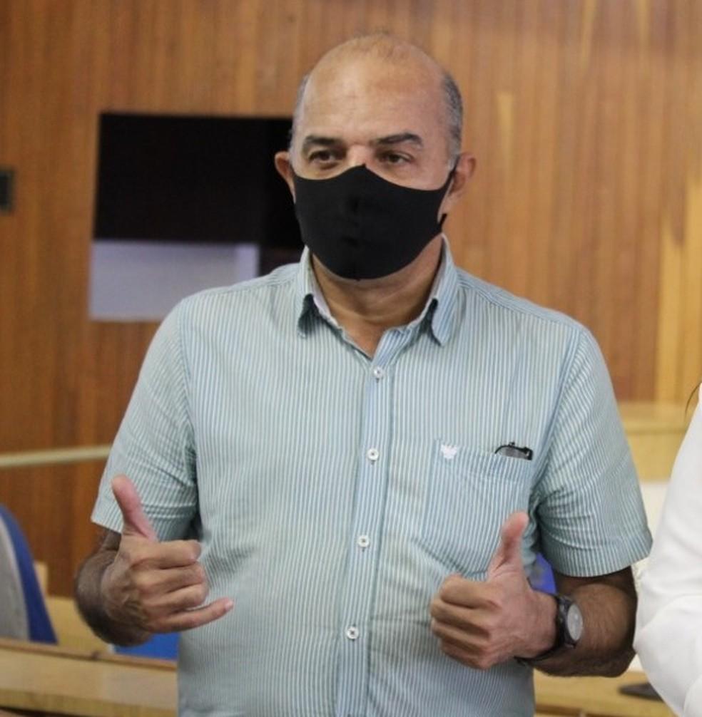 Marcelo Valmor do PTC — Foto: Bruno Lima / Inter TV