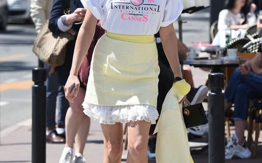 Chloë Sevigny é o ícone de estilo do street style de Cannes