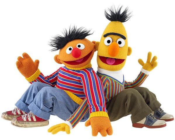 Bert e Ernie, Vila Sésamo (Foto: Divulgação)