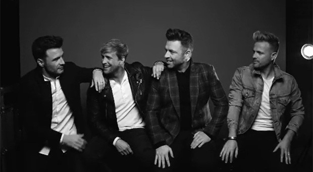 Shane Filan, Kian Egan, Mark Feehily e Nicky Byrne, do Westlife (Foto: Reprodução/Instagram)
