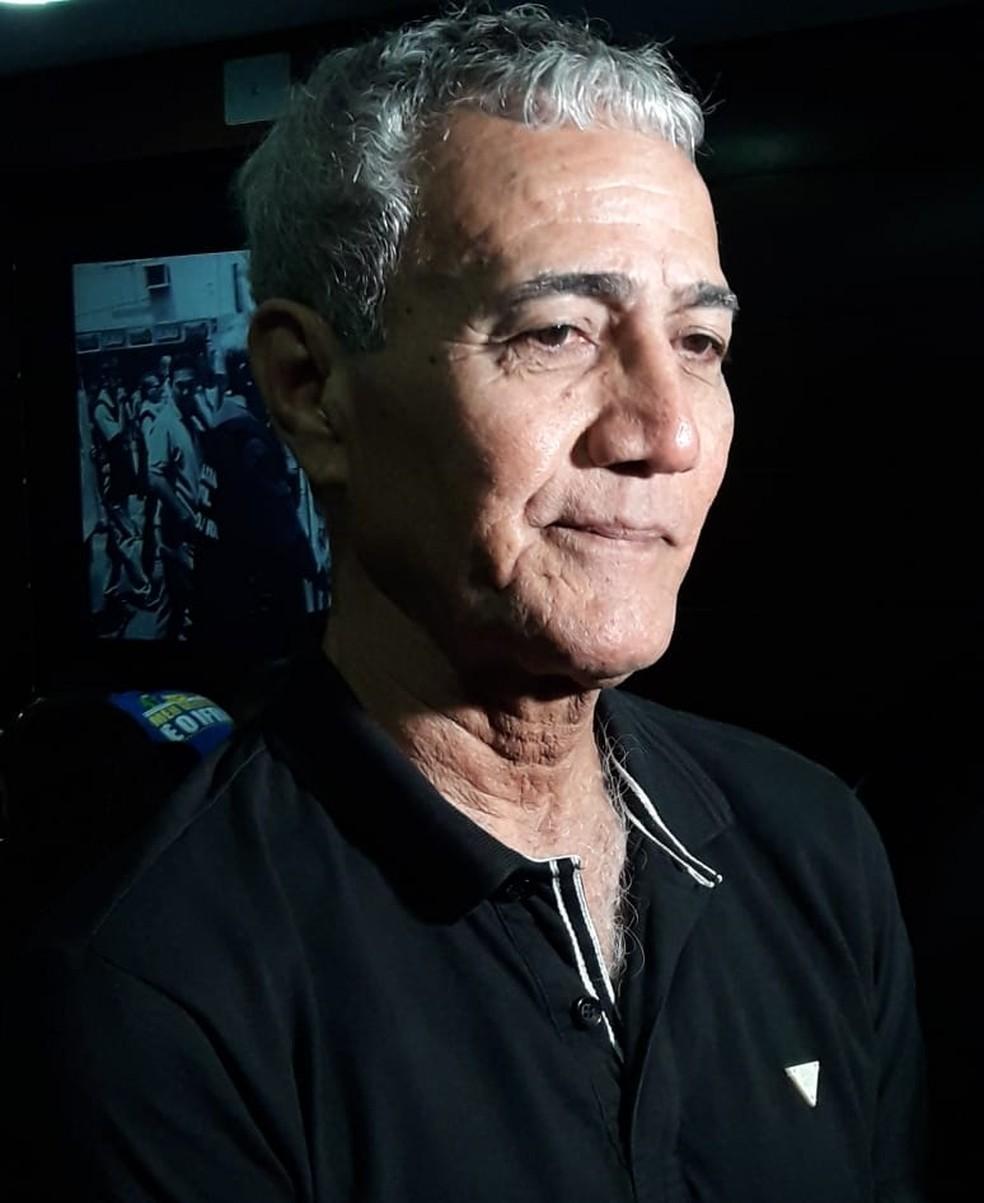 Dário Barbosa foi escolhido pelo PSTU para disputar o governo do RN (Foto: Heloísa Guimarães/Inter TV Cabugi)