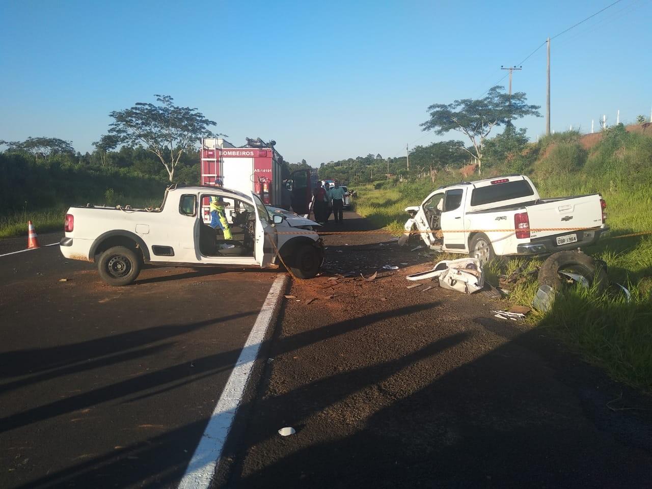 Acidente causa morte de uma pessoa e deixa outras 3 vítimas gravemente feridas na Rodovia Júlio Budiski