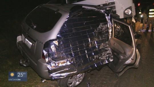 Acidente deixa 4 mortos na Rodovia SP-342 em Águas da Prata