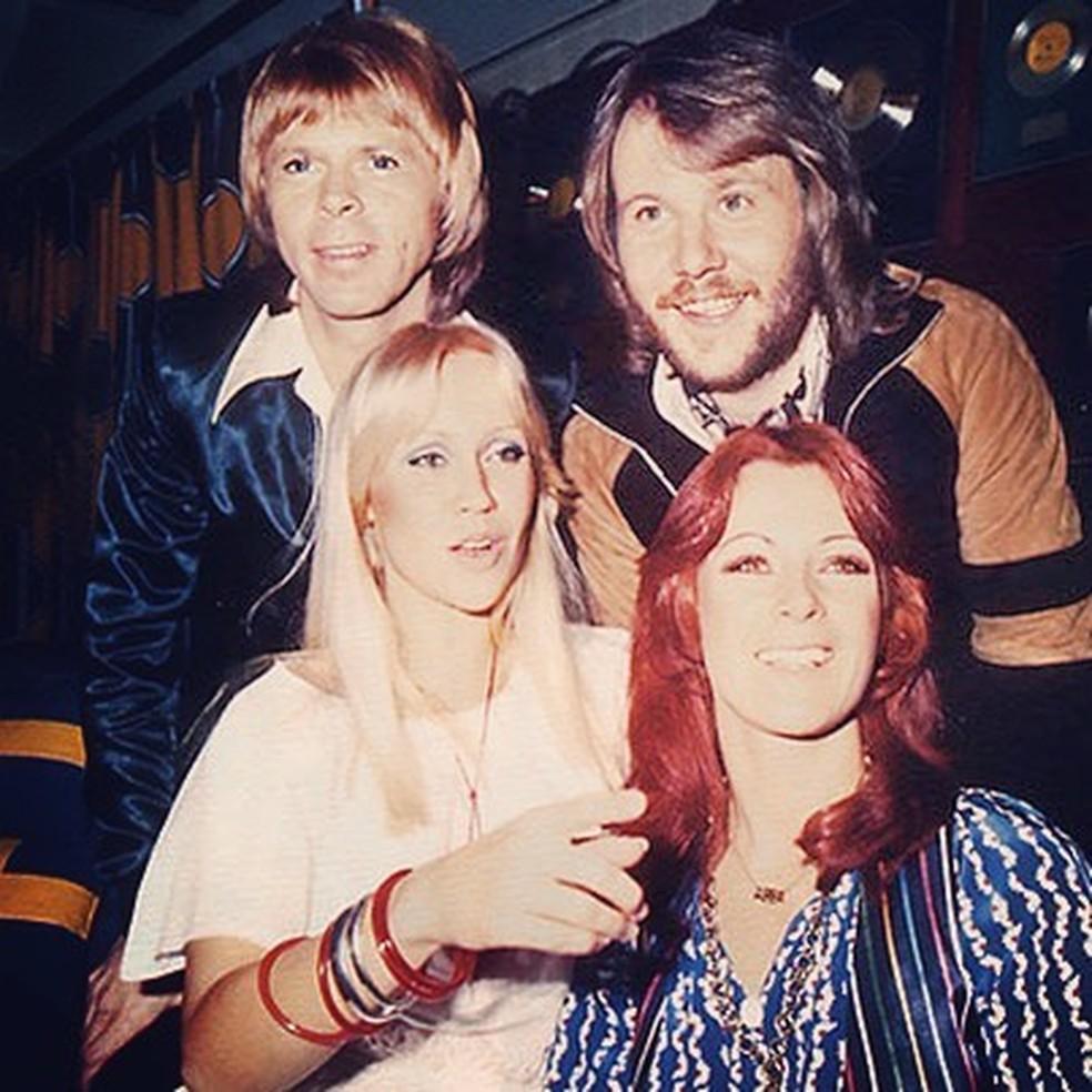 ABBA (Foto: Reprodução/Instagram)