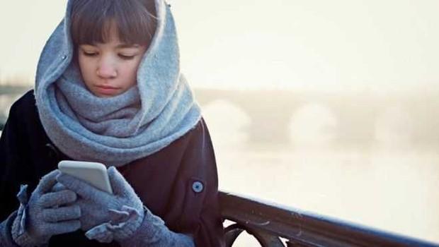 frio, celular (Foto: GETTY IMAGES via BBC)