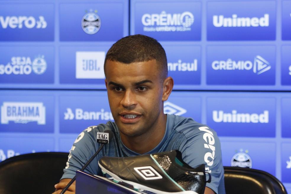 Alisson é um dos destaques do Grêmio no início de temporada — Foto: Eduardo Moura