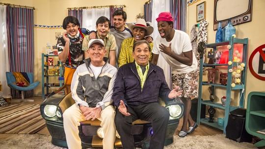 'Os Trapalhões': confira o clima das gravações e veja expectativa do elenco para a estreia