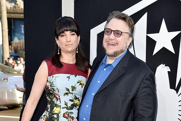 Guillermo del Toro e Lorenza Newton  (Foto: Getty Images)