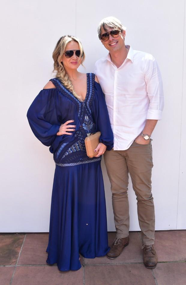 Eliana e Adriano Ricco (Foto: AgNews)
