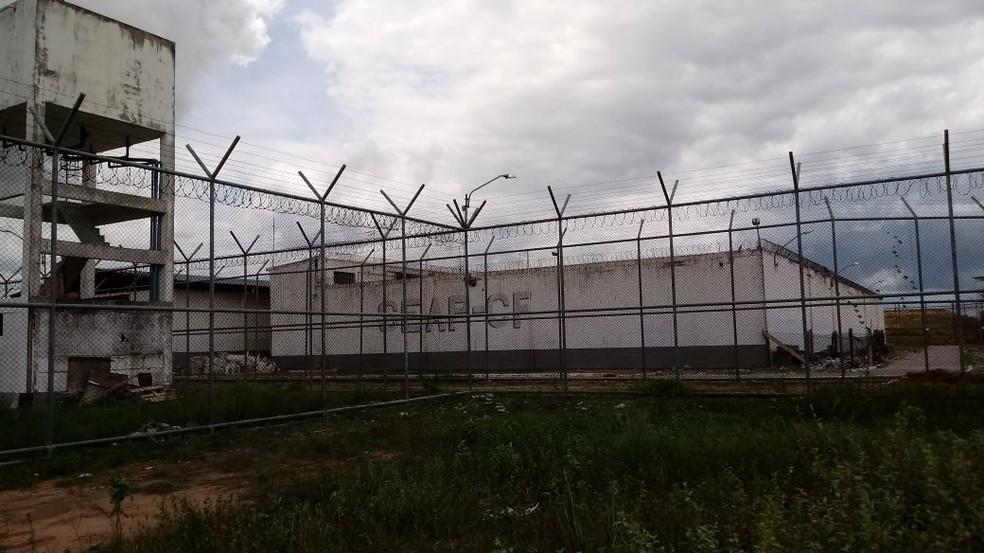 Presídio em Campos, no Norte Fluminense (Foto: André Dias/Inter TV)