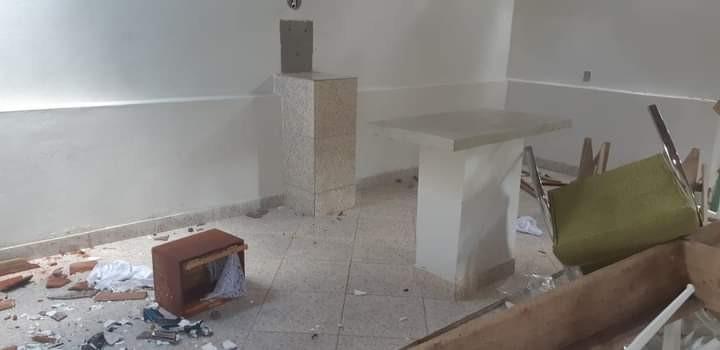 Igreja católica é depredada em MG; foram quebrados móveis, imagens sacras e espalhadas hóstias pelo chão