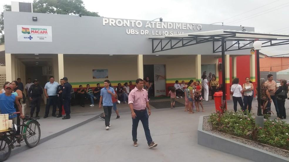 Reinauguração da UBS Lélio Silva aconteceu na manhã desta terça-feira (8) — Foto: Carlos Alberto Jr/G1