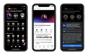 Facebook lança Live Audio Rooms, sua versão do aplicativo de áudio