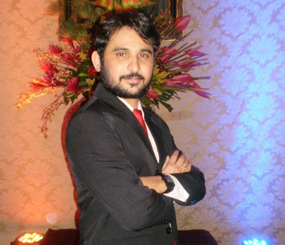 Fábio José Silva de Araújo tinha 34 anos (Foto: Arquivo Pessoal)