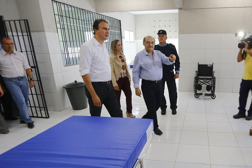 Centro tem capacidade para de 500 detentos (Foto: Governo do Estado/Divulgação)