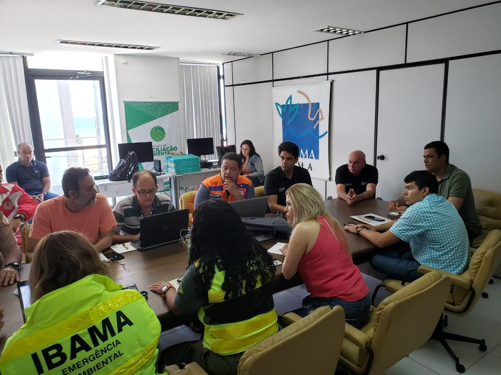 Segundo encontro do Comando Unificado de Incidentes, em Salvador  — Foto: Divulgação