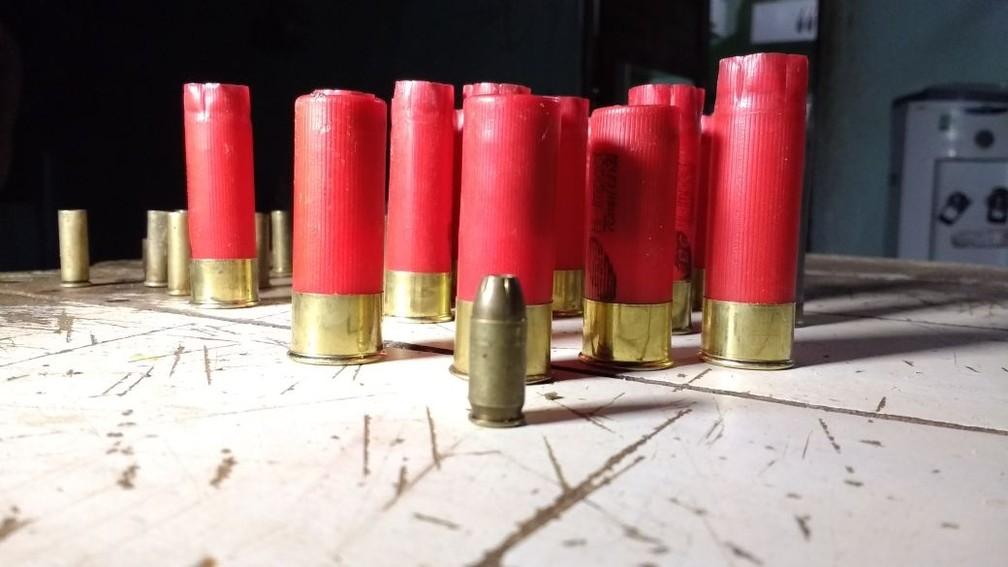 Criminosos estão cada vez mais bem armados (Foto: Marcelino Neto)