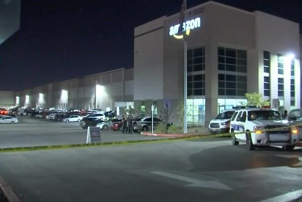 Centro de distribuição da Amazon (Foto: Reprodução)