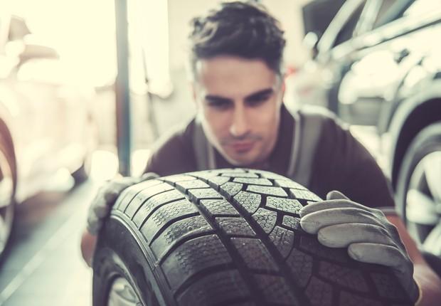 Cuidados básicos com os pneus garantem uma vida útil maior (Foto: ThinkStock)