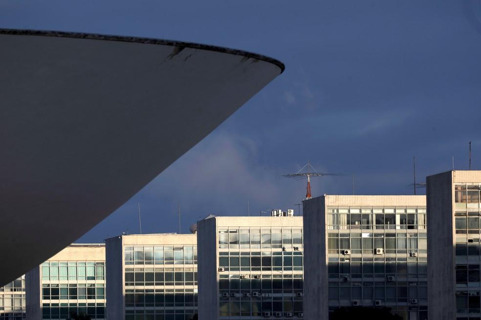 Vista da Esplanada dos Ministérios, em Brasília. — Foto: REUTERS/Ueslei Marcelino