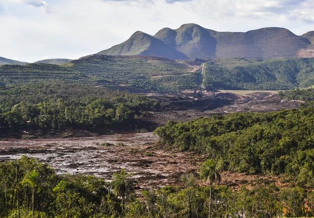 Brumadinho, Minas Gerais, vale, rompimento  (Foto: Getty Images )