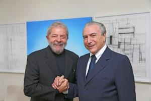 Michel Temer e Lula