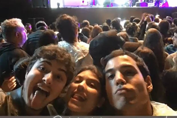Mikael Marmorato, Giovanna Grigio e Bruno Gadiol (Foto: Reprodução/Instagram)