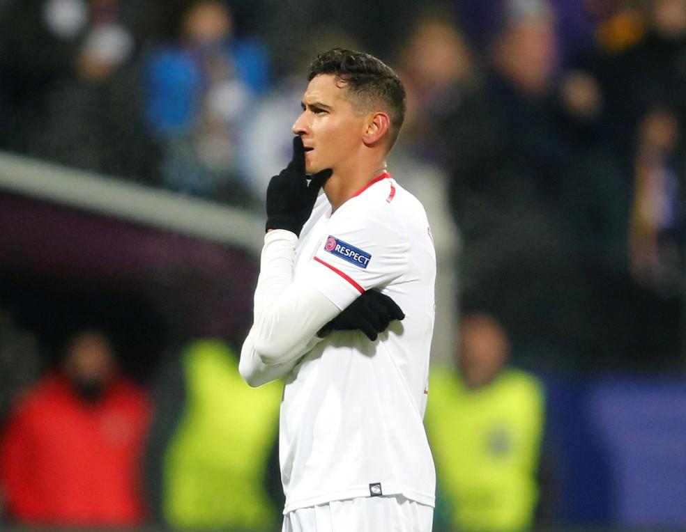Paulo Henrique Ganso pertence ao Sevilla, da Espanha — Foto: REUTERS/Srdjan Zivulovic