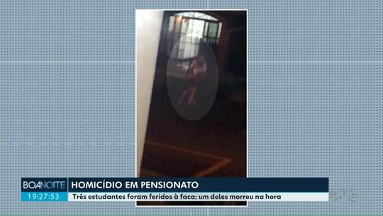'Quero que Deus faça justiça', diz mãe de estudante morto após ser esfaqueado em pensionato de Maringá