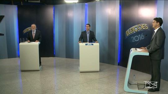 Veja como foi o debate no 2º turno com os candidatos em São Luís
