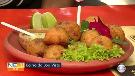 Bar do Vizinho é um dos restaurantes participantes do concurso Comida di Buteco no Recife