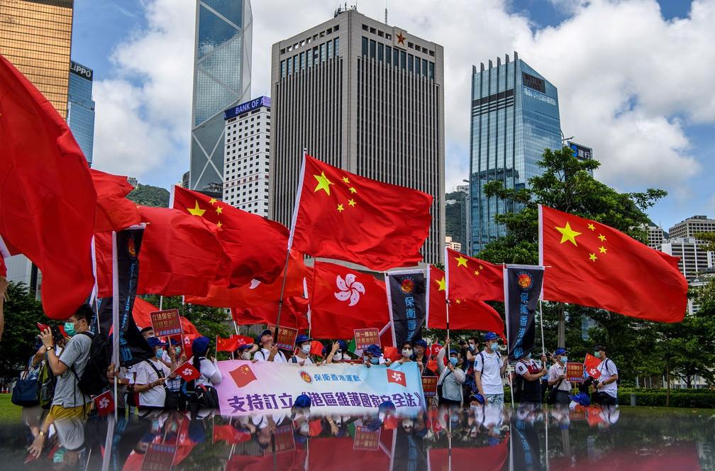 Presidente da China promulga lei de segurança nacional para Hong ...