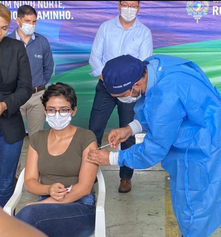'Com certeza vou me vacinar', diz Governador de Rondônia durante chegada das doses da CoronaVac
