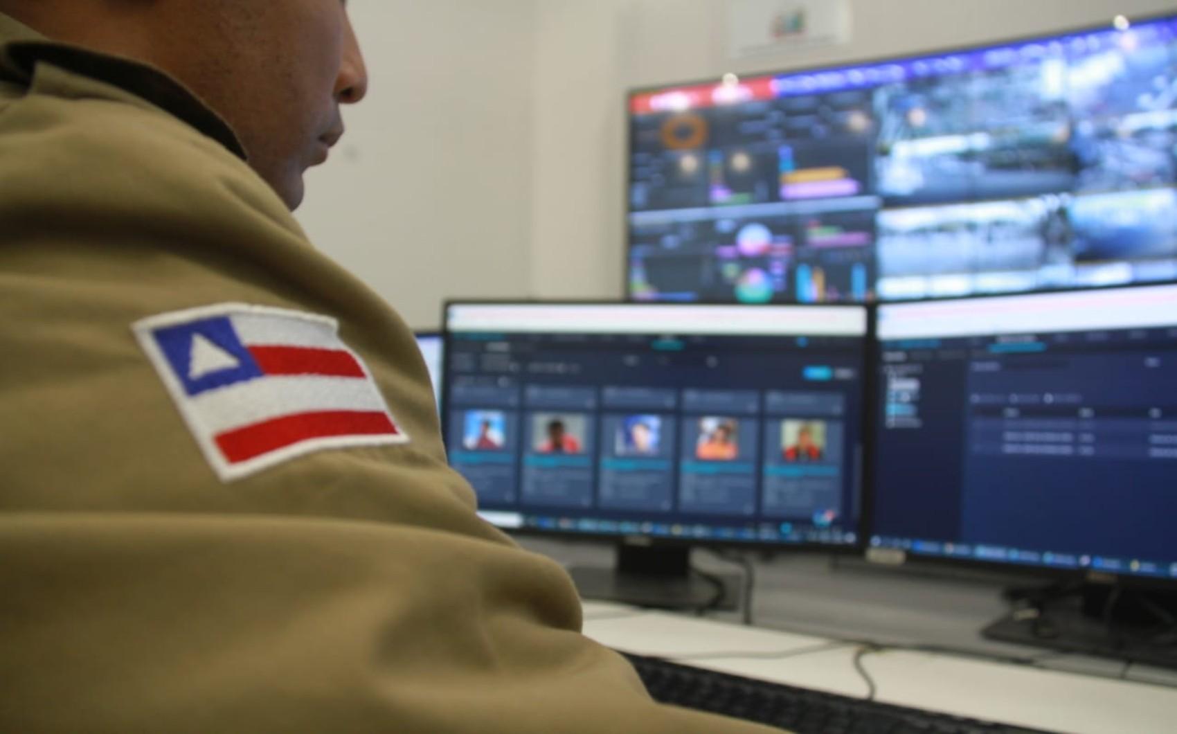 Homem é preso após ser identificado pelo sistema de reconhecimento facial em Salvador