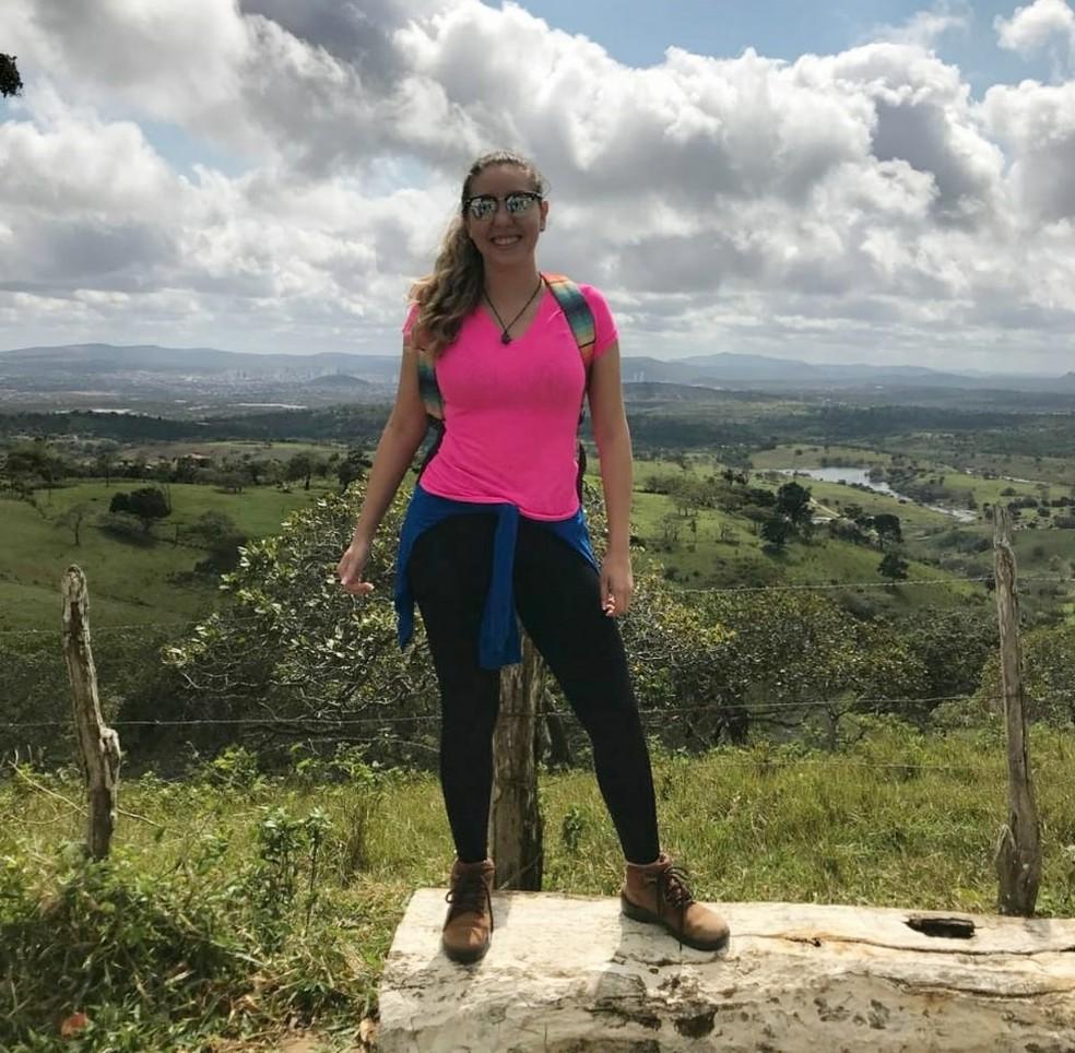 Gabriela Duarte é engenheira ambiental e mora em Caruaru desde 2015 â?? Foto: Gabriela Duarte/Arquivo pessoal