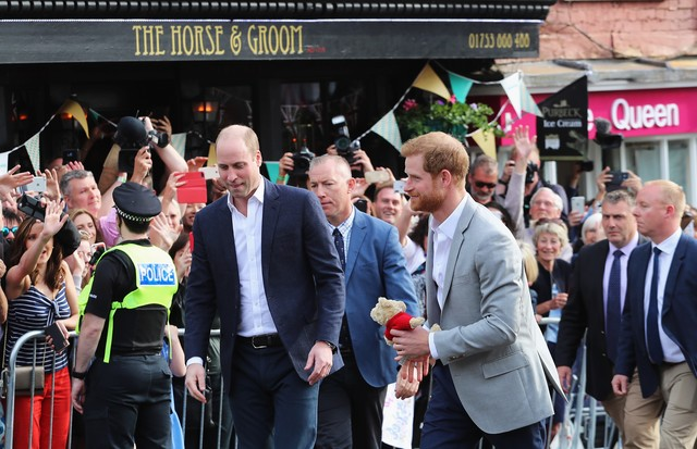 Harry e William (Foto: Getty Images)