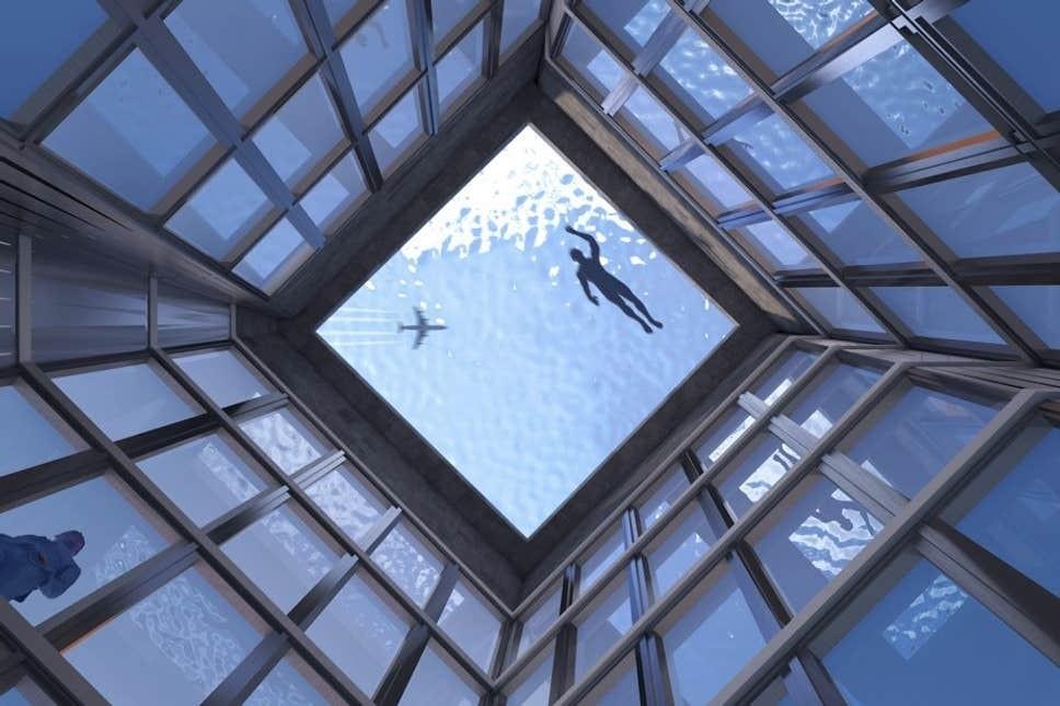 piscina borda infinita (Foto: Reprodução)